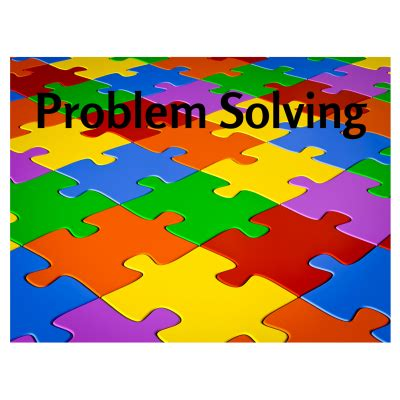 Problem solving ability thesis